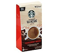 Starbucks VIA Instant Coffee Latte Peppermint Mocha Packets - 5-1.41 Oz