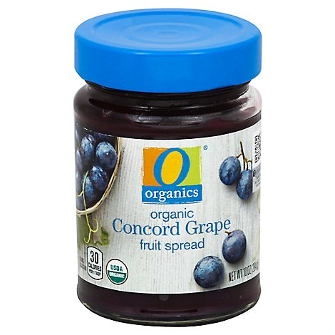 O Organics Organic Fruit Spread Concord Grape - 10 Oz