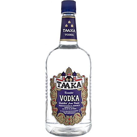 Taaka Vodka 80 Proof - 1.75 Liter