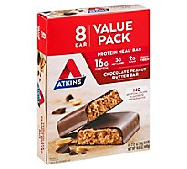 Atkins Bar Chocolate Peanut Butter Value Pack - 8-2.1 Oz