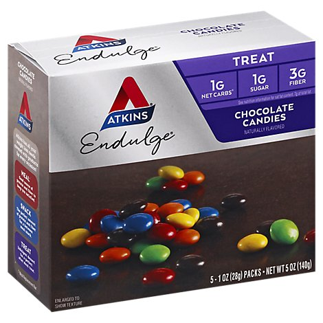 Atkins Endulge Treat Chocolate Candies - 5-1 Oz