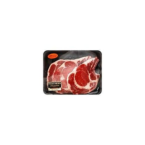Open Nature Beef Grass Fed Angus Ribeye Steak Bone In Thin Cut - 1 LB