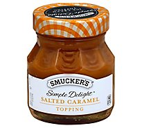 Smuckers Simple Delight Topping Salted Caramel - 11.5 Oz