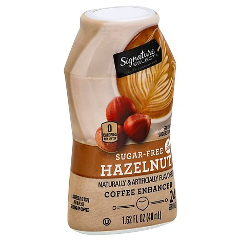 Signature SELECT Coffee Enhancer Sugar Free Hazelnut - 1.62 Oz