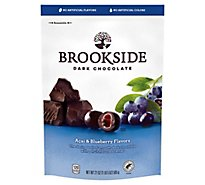 Brookside Dark Chocolate Acai and Blueberry Flavors - 21 Oz