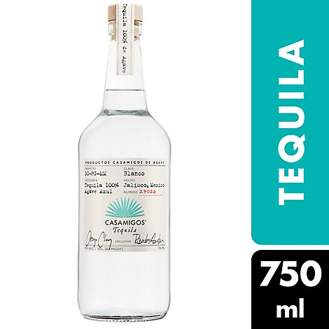 Casamigos Tequila Blanco 80 Proof - 750 Ml