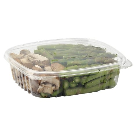 Fresh Cut Asparagus & Mushrooms - 8 Oz