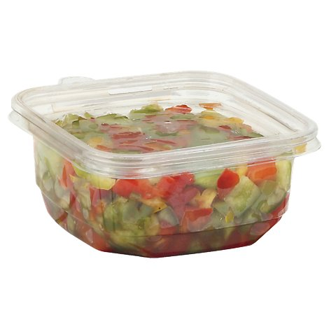Fresh Cut Bell Peppers Trio Diced - 7 Oz