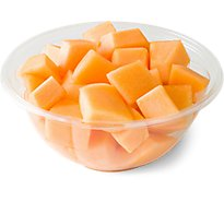 Fresh Cut Cantaloupe Chunks - 20 Oz