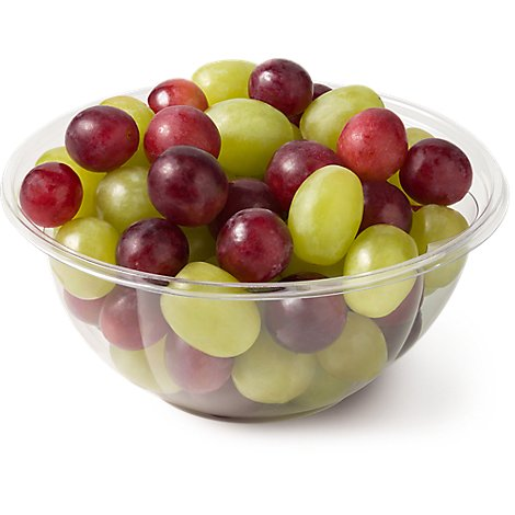 Fresh Cut Grapes Mixed - 24 Oz