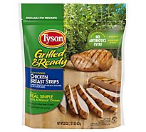 Tyson Grilled & Ready Fully Cooked Grilled Chicken Breast Strips 22 Oz Frozen