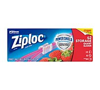 Ziploc Slider Storage Bags Quart 42 ct