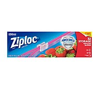 Ziploc Slider Storage Bags Quart 32 ct