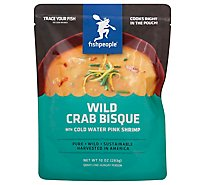Fishpeople Soup Bisque Wild Crab With Cold Water Pink Shrimp - 10 Oz