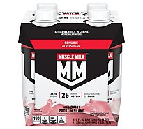 Muscle Milk Nutritional Shake Strawberries N Creme - 4-11 Fl. Oz.