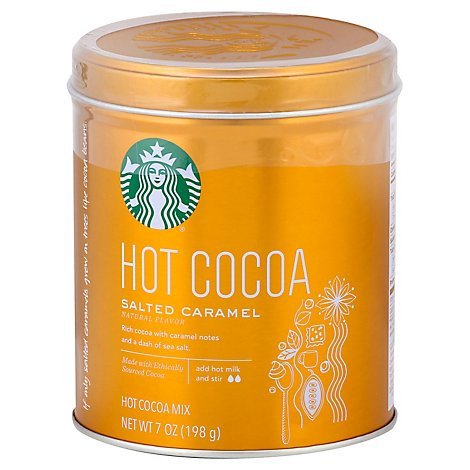 Starbucks Cocoa Hot Salted Caramel - 7 Oz