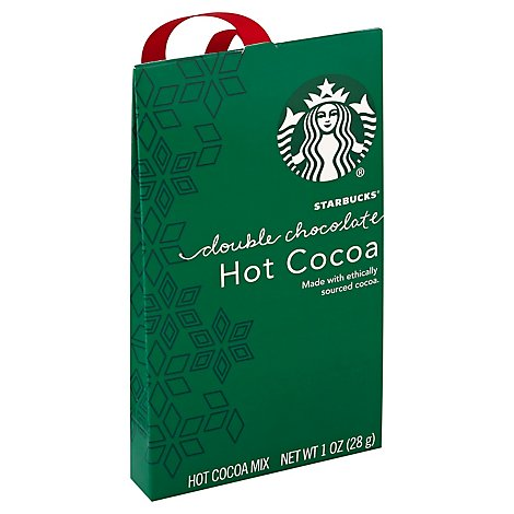 Starbucks Cocoa Hot Holiday Double Chocolate - 1 Oz