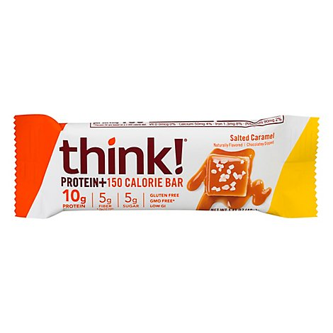 thinkThin Protein & Fiber Bar Salted Caramel - 1.41 Oz