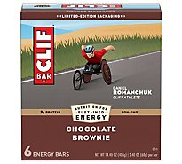 CLIF Energy Bar Chocolate Brownie - 6-2.4 Oz