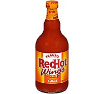 Franks RedHot Hot Sauce Wings Buffalo - 23 Fl. Oz.