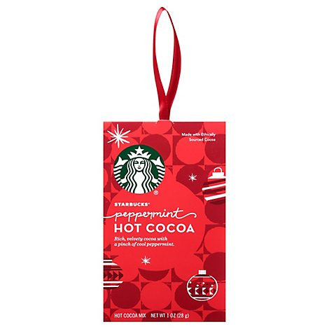 Starbucks Cocoa Hot Peppermint - 1 Oz