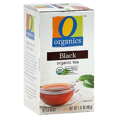 O Organics Black Tea Organic 20 Count - 1.41 Oz