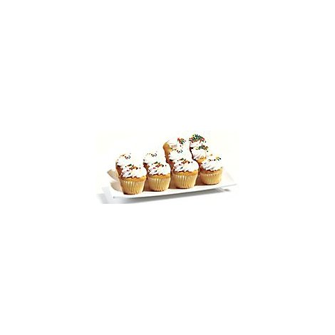 Bakery Cupcake Pareve White 10 Count - Each
