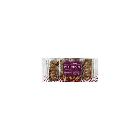 Signature Kitchens Cookies Iced Oatmeal - 27 Oz