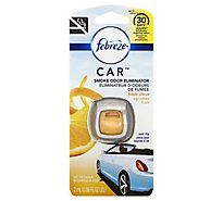 Febreze CAR Air Freshener Vent Clip Fresh Citrus - 0.06 Fl. Oz.