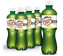 Canada Dry Soda Diet Ginger Ale - 6-16.9 Fl. Oz.