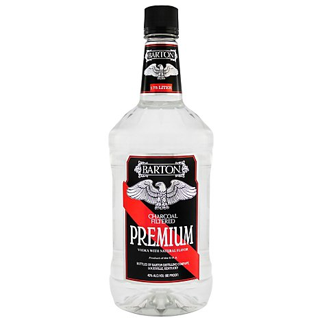 Barton Vodka 80 Proof - 1.75 Liter