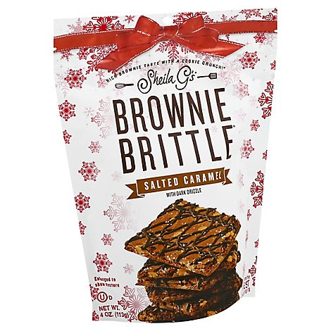Sheila Gs Brownie Brittle Salted Caramel - 5 Oz