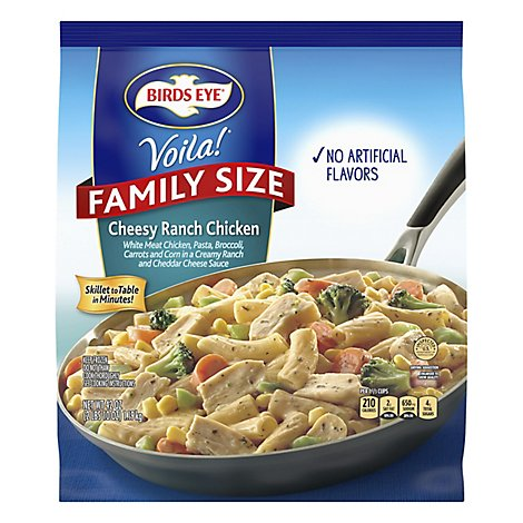 Birds Eye Voila Cheesy Ranch Chicken Family Bag - 42 Oz