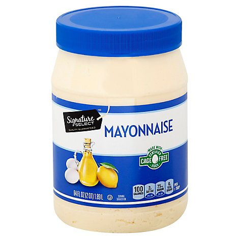 Signature SELECT Mayonaise Jar - 64 Oz