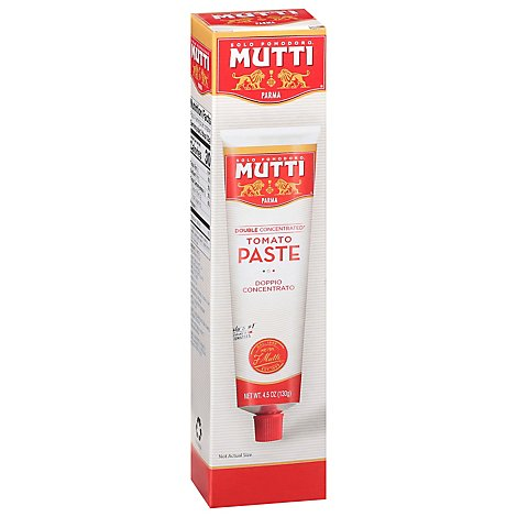 Mutti Tomato Paste Doppio Concentrato Double Concentrated - 4.5 Oz