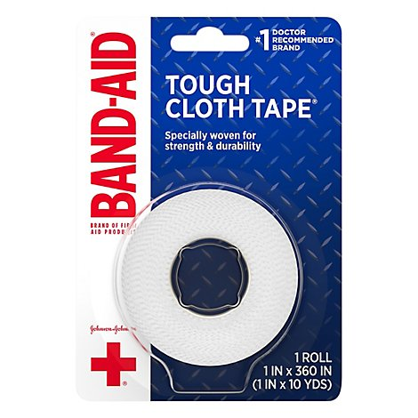 BAND-AID Tape Cloth Small 1 Inches - Each