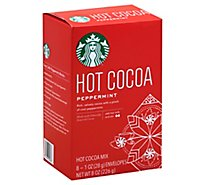 Starbucks Hot Cocoa Peppermint - 8 Count