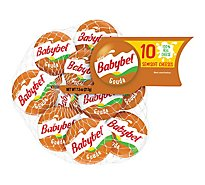 Mini Babybel Gouda Snack Cheese 10 Pack - 7.5 Oz.