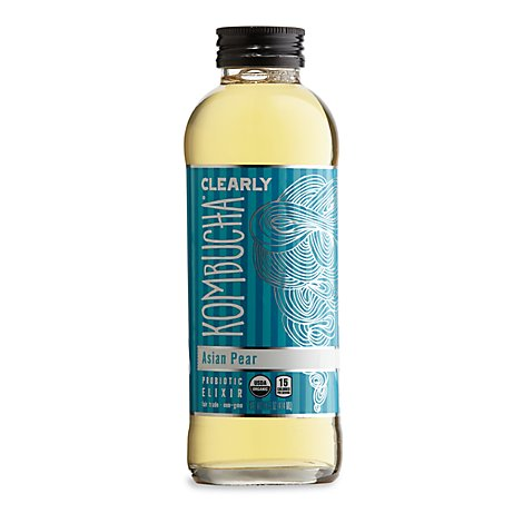 Clearly Asian Pear Kombucha - 14 Fl. Oz.