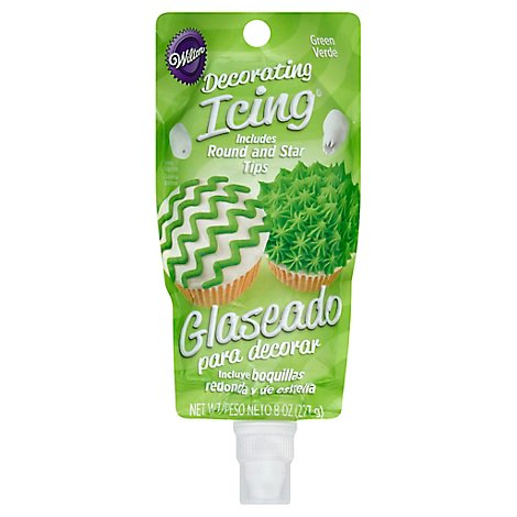Wilton Decorating Icing Green - 8 Oz