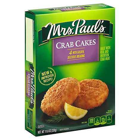 Mrs Pauls Crab Cakes - 11.6 Oz