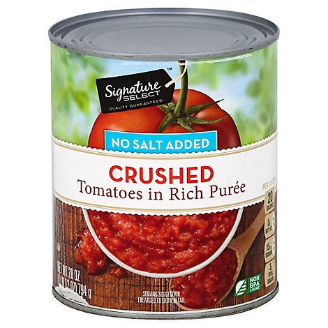Signature SELECT Tomatoes Crushed in Rich Puree - 28 Oz