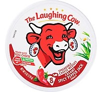 The Laughing Cow Creamy Spicy Pepper Jack Cheese Spread 6 oz