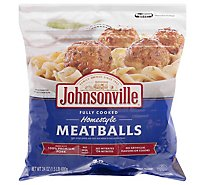 Johnsonville Meatballs Homestyle Fully Cooked 28 Meatballs - 24 Oz