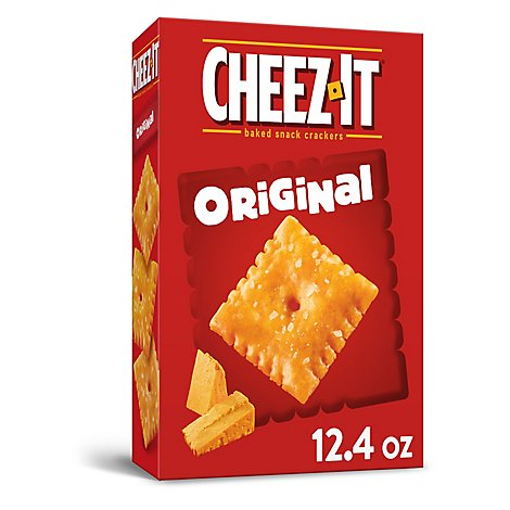 Cheez-It Crackers Baked Snack - 12.4 Oz