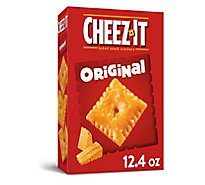 Cheez-It Baked Snack Cheese Crackers Original - 12.4 Oz