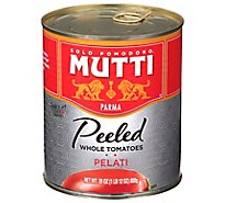 Mutti Tomatoes Whole Peeled - 28 Oz