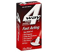 4 Way Nasal Spray Fast Acting - 1 Fl. Oz.