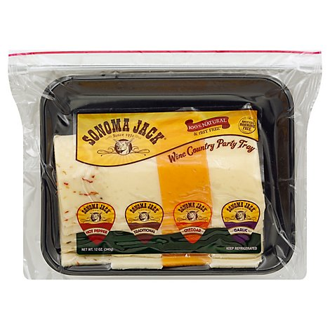 Sonoma Country Selection Cheese Tray - 12 Oz