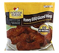 Foster Farms Chicken Wings Honey BBQ - 80 Oz